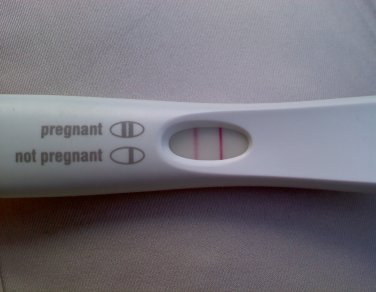 real pregnancy test positive prank