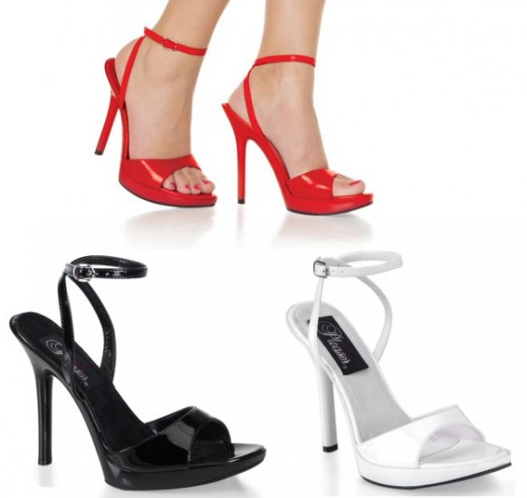 Women's Open Toe Sandals with Wrap Around Ankle Strap