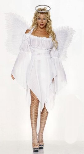 Chiffon Angel Peasant Top Dress