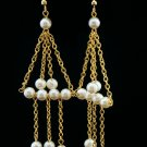 Dangling Pearl Earrings (Item#: 00301)