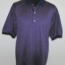 Bobby Jones Men's Multi Color Designs Made In Italy Casual Golf Shirt Size Large