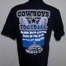 Dallas Cowboys NFL Football Cowboys Team Apparel Americas Team T-Shirt Size M