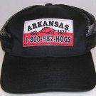 Arkansas Razorbacks 1-800-982-HOGS American Needle Trucker Snapback Hat Cap