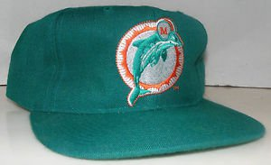 Miami Dolphins NFL Football Vintage New Era Pro Model Back Script Snapback Hat