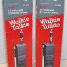 REALISTIC TRC-219 Handheld Walkie Talkie Lot of 2 Vintage 3 Channel CB Radios