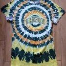 Creative Apperal Concept Oregan Ducks Tie Dye Polyester NCAA T-Shirt Size Medium