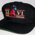 The Game XXVI Olympic Games 1996 Atanta Ga. Split Bar Fitted Hat Size 7 1/4 RARE