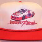 Scotty's Racing Winston Cup NASCAR Vintage White Baseball Snapback Hat Cap