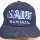 Maine Black Bears NCAA Vintage Twins Ent Collegiate Blue Corduroy Baseball Hat