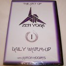 THE ART OF ZEN YOGA Daily Warm-Up With Aaron Hoopes DVD Breathe Move Relax NEW