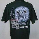 Bike Week 2010 Daytona Beach Fl. The Great American Rally Eagle T-Shirt Size XL