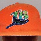 Tampa Bay Devil Rays Vintage G Cap Orange MLB Strapback Baseball Cap Hat