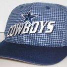 Dallas Cowboys NFL Football Vintage 90's Logo Athletics Blue Velcroback Hat Cap