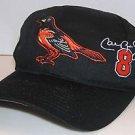 Baltimore Orioles Cal Ripkin Jr. MLB Baseball Vintage Twins Ent. Snapback Hat