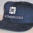 Mark McCumber Golf Academy New Era Blue Signature Baseball Fitted Hat Size 7 1/2