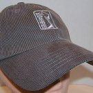 PGA Tour Imperial Brand Gray Lightweight Corduroy Baseball Cap Strapback Hat