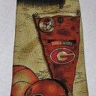 Georgia Bulldogs NCAA Football SEC Eagles Wings Tie Nice Style Gently Used