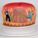 The Grand Ole Opry Nashville Tennessee Vintage Trucker Mesh Snapback Hat Cap