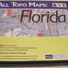 iGage All Topo Maps Florida - Professional Mapping, GPS 5 Disc Software Set