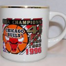 Chicago Bulls 4 Times NBA Champions 1991. 1992, 1993, 1996 Coffee Cup Mug