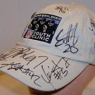 Super Bowl XXXIX Youth Clinic Autographed Hat Warren Moon Zach Crockett Etc.