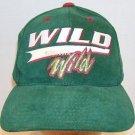 Minnesota Wild NHL Hockey Vintage Logo 7 Spellout Script Snapback Hat Vikings