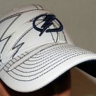 Tampa Bay Lightning NHL Hockey Club Official Flex Fit Baseball Cap Hat Size S/M