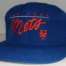 New York Mets MLB Baseball Vintage Drew Pearson Chalk Line Script Snapback Hat