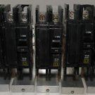 Square D QOU250 CIRCUIT BREAKERS 2-pole 120/240 V 50 Amp Lot of 5 Breakers Used