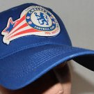 Chelsea Football Club FC America Red, White & True Blue Velcroback Hat Cap