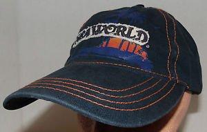 Sea World Park and Entertainment Exclusive Blue Velcroback Hat Cap Shamu