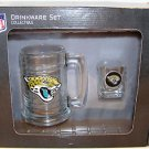 Jacksonville Jaguars NFL Licensed Glassware Set New Logo Beer Mug Shot Glass