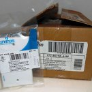 Leviton White Telephone 4-Wire Phone Jacks Wall Plate 172-4625B-44W Case of 25