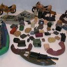 Random Pieces Parts Action Figures Backpacks Rock Walls Boat Motorcycles Etc.