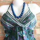 OutFitKit sleeveless empire waist sun dress aqua, purple, blue with accessories
