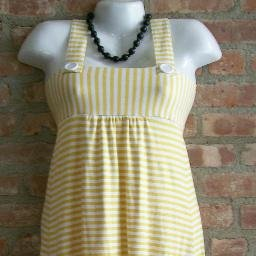 OutFitKit black white stripe mod baby doll jumper with accessories