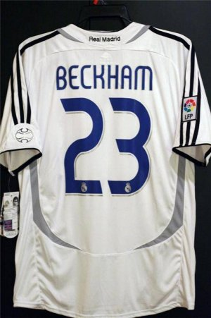timeless design c023d 469bf Jerseyunited Real Madrid David Beckham Jersey