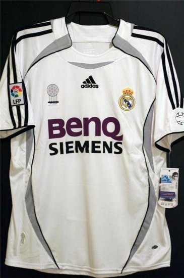 Jerseyunited Real Madrid Roberto Carlos Home Jersey