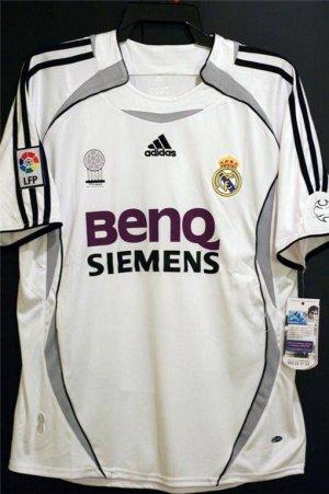 Jerseyunited Real Madrid Ruud van Nistelrooy Home Jersey