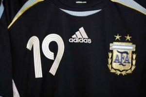 Argentina MESSI #19 AWAY Jersey