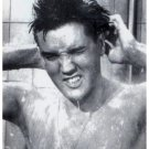 """Elvis In Shower 8.5""""x11""""    **** Free shipping"""