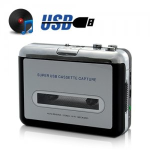 Hot on Ebay free shipping USB Cassette Player and Tape-to-MP3 Converter just 10/piece such low price