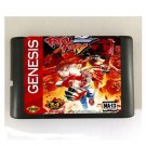 Fatal Fury 2 16-Bit Sega Genesis Mega Drive Game Reproduction (Tested & Working)