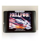 Hellfire 16-Bit Sega Genesis Mega Drive Game Reproduction (Tested & Working)