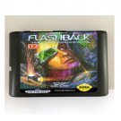 Flashback 16-Bit Sega Genesis Mega Drive Game Reproduction (Tested & Working)