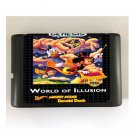 World of Illusion 16-Bit Sega Genesis Mega Drive Game Reproduction (Tested & Working)