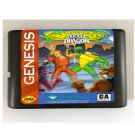 Battletoads & Double Dragon 16-Bit Sega Genesis Mega Drive Game Reproduction (Tested & Working)