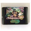 Taz Mania 16-Bit Sega Genesis Mega Drive Game Reproduction (Tested & Working)