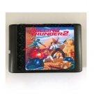 Rolling Thunder 2 16-Bit Sega Genesis Mega Drive Game Reproduction (Tested & Working)