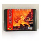 The Lion King 16-Bit Sega Genesis Game Reproduction NTSC Only (Tested & Working)